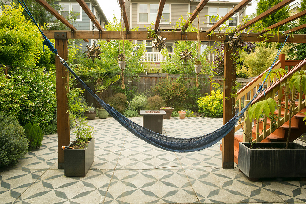 Mexican Inspired Patio in Portland, Oregon